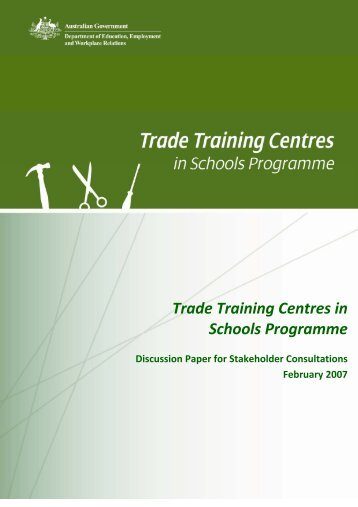 Trade Training Centres in Schools Programme