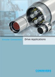 Circular Connectors for Drive Applications - Phoenix Contact
