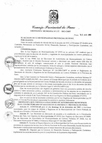 WO, 2C ej(2/ e - Municipalidad Provincial de Puno