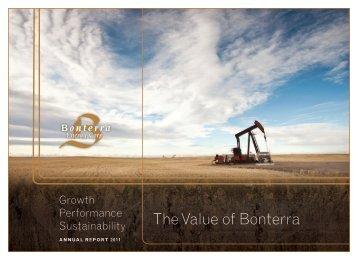 2011 - Bonterra Energy Corp.
