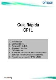Guía Rápida CP1L - Carol Automatismos Igualada SA