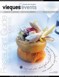 Guía de Restaurantes - Vieques Events