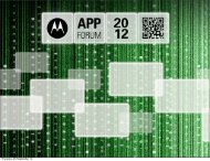 Development Tools and NFC - Motorola Solutions Launchpad