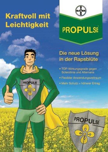 Kraftvoll mit Leichtigkeit - Bayer CropScience Deutschland GmbH