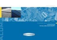 lieferprogramm für solar montagesystem dt-1 - Alumero
