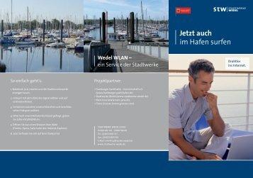 Wedel WLAN - im  Hamburger Yachthafen