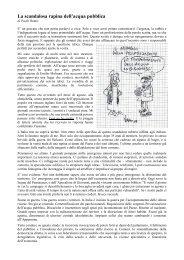 PAOLO RUMIZ - La scandalosa rapina dell'acqua pubblica - la Puska
