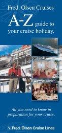 Fred. Olsen A-Z Guide (PDF) - Borton Overseas