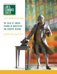 The Value of Judicial Training in Quantitative and Scientific Methods