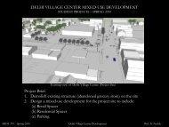 DELHI VILLAGE CENTER MIXED-USE ... - SUNY Delhi