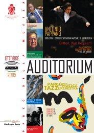 ANTONIO - Auditorium Parco della Musica