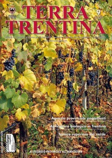 TERRA TRENTIN A - Riviste - Provincia autonoma di Trento