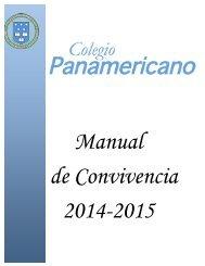 Manual de Convivencia - Colegio Panamericano