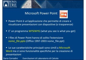 (Microsoft PowerPoint - Esercitazione_PowerPoint_3 [modalit\340 ...