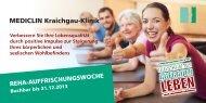 Download PDF - MediClin Kraichgau-Klinik