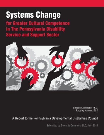 Systems Change - Pennsylvania Developmental Disabilities Council
