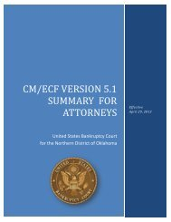 5.1 summary for attorneys.pdf - Northern District of Oklahoma