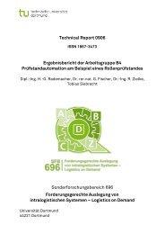 Technical Report 0906 Sonderforschungsbereich 696 ... - SFB 696