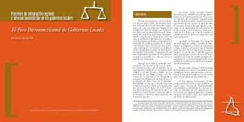 El Foro Iberoamericana de Gobiernos Locales Procesos de ...