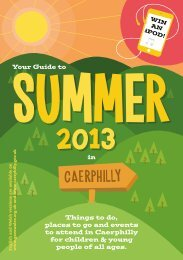 download summer guide 2013 - english - Gwent Association of ...