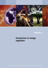 Introduction to energy regulation - unido