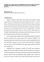 resume hasil survei penelitian pembinaan penangkar benih ...