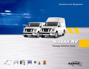 Ranger Nissan NV Catalog - Stonebrooke Equipment