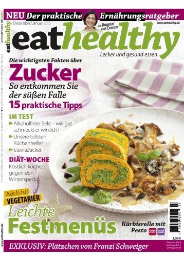 Leseprobe eathealthy 01/2015