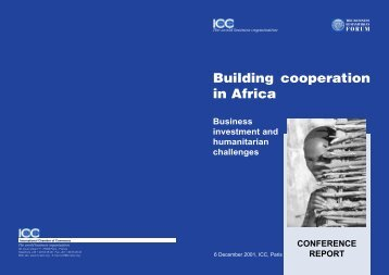 Building cooperation in Africa - Business Humanitarian Forum
