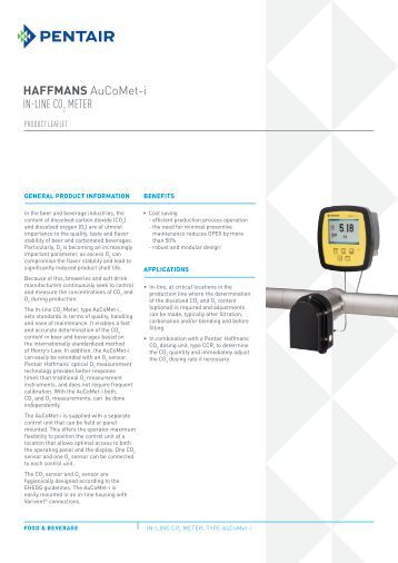 HAFFMANS RefraSonic-i IN-LINE ALCOHOL/EXTRACT METER
