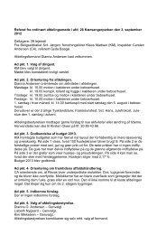 Referat fra afdelingsmøde for Kærsangerparken - Boligselskabet Sct ...