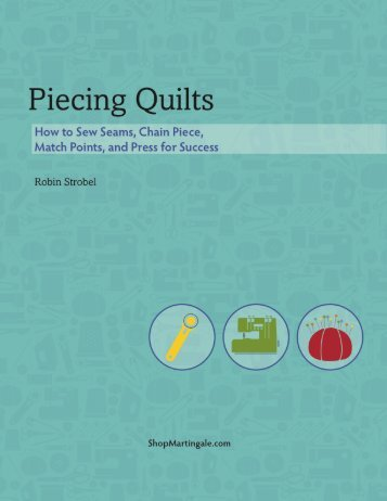 Piecing Quilts - ShopMartingale