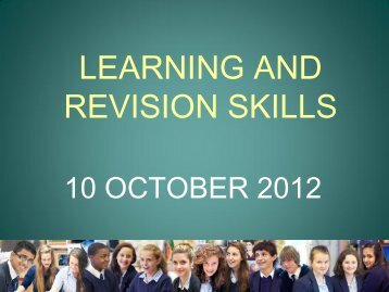 Revision and Study Skills