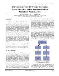 implementation of turbo decoder using max-log-map ... - ijater