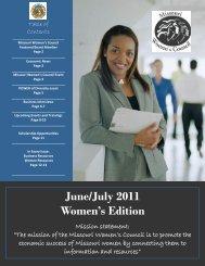 June/July 2011 - Missouri Women's Council
