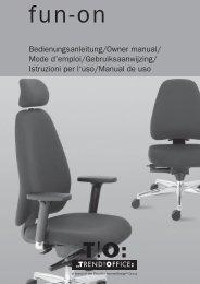 Bedienungsanleitung - Blickpunkt-buero.de