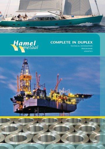complete in duplex - Hamel