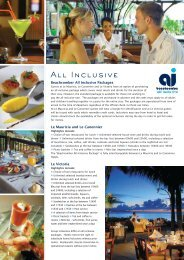 All Inclusive - Beachcomber