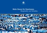 Infos auf einen Blick sowie Buchungsmöglichkeit - FC Schalke 04