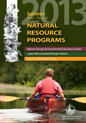 Summer Programs 2013 - City of Bellevue
