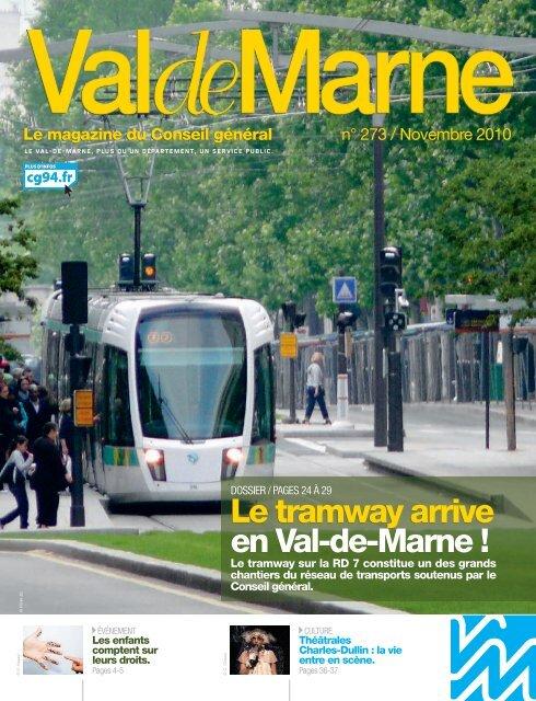 ValdeMarne n°273 / Novembre 2010 - Conseil général du Val-de ...