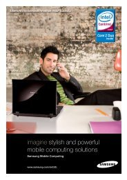 imagine stylish and powerful mobile computing solutions