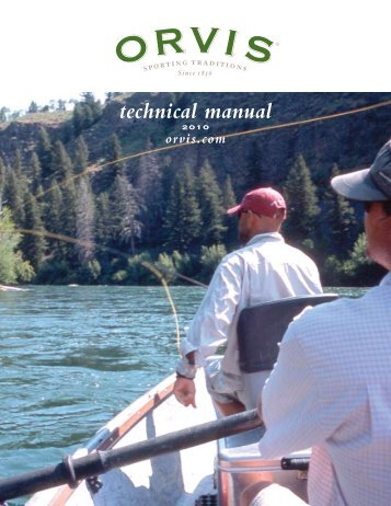 technical manual - Orvis