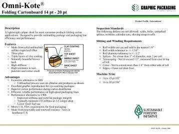 Omni-Kote - Graphic Packaging