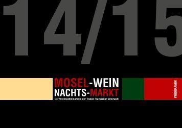 Mosel-Wein-Nachts-Markt 2014/2015