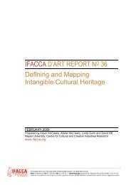 Defining and Mapping Intangible Cultural Heritage
