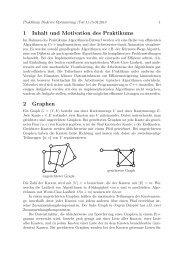 Tutorial 1 - Lehrstuhl für Effiziente Algorithmen