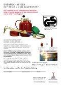 Brennschneiden Benzin + Sauerstoff - Seite 2
