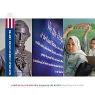 2009 Annual Report - National Constitution Center