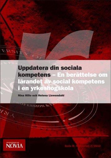 Uppdatera din sociala kompetens. En berättelse om ... - Theseus